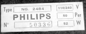 philips NG2484 pickup