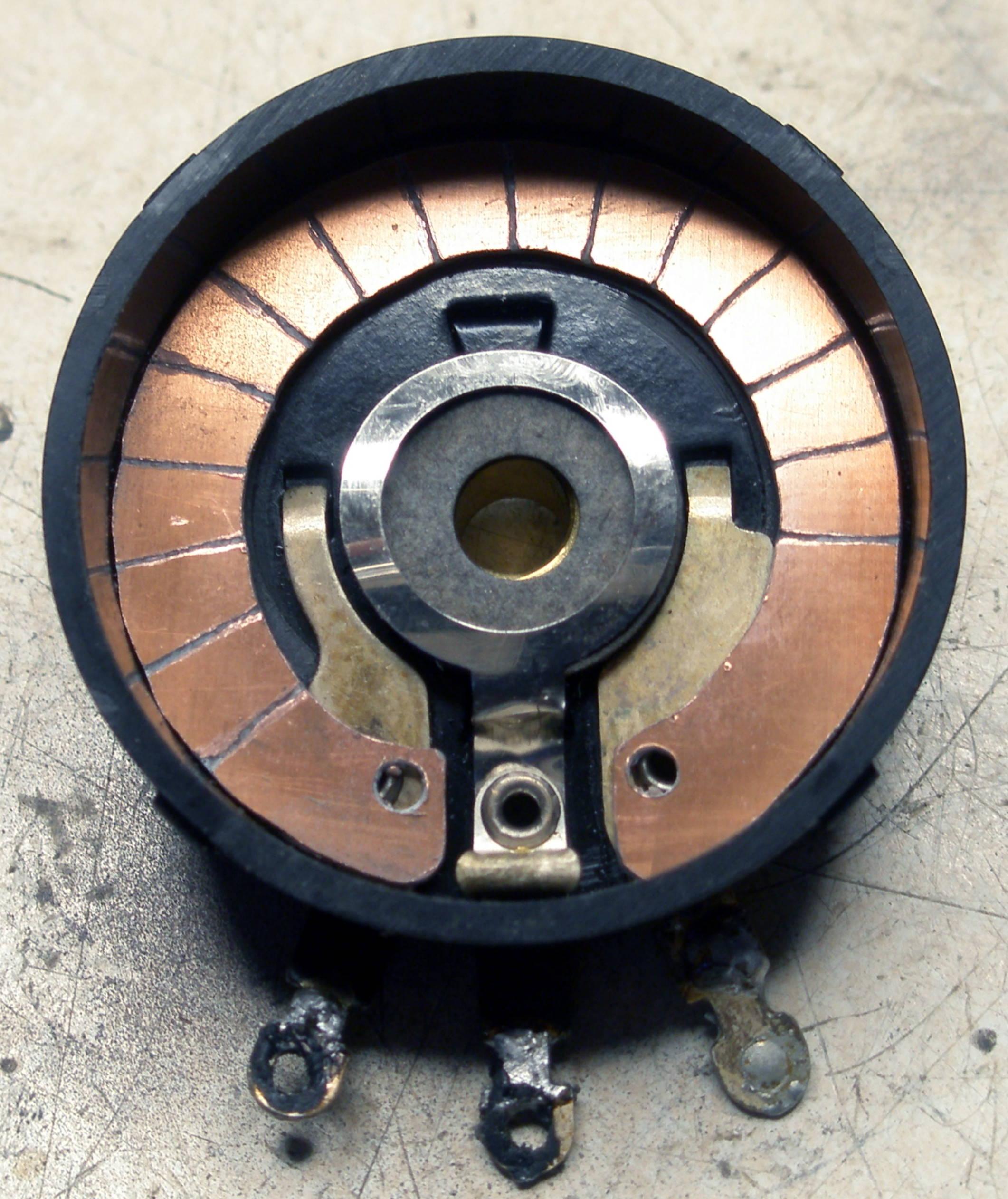 Reparación Potenciómetro radio antigua - Autoradio Philco mod 7 - 13