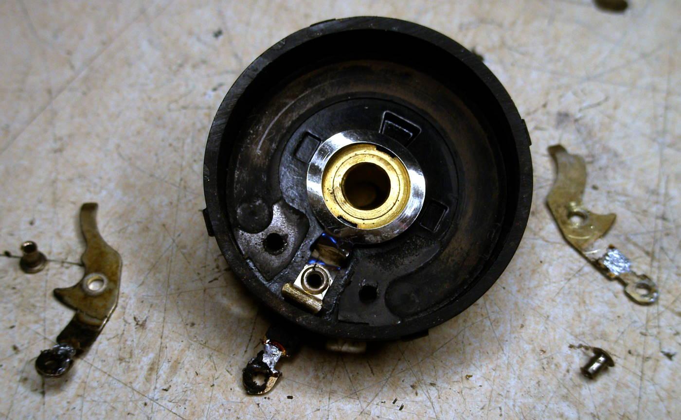 Reparación Potenciómetro radio antigua - Autoradio Philco mod 7 - 14