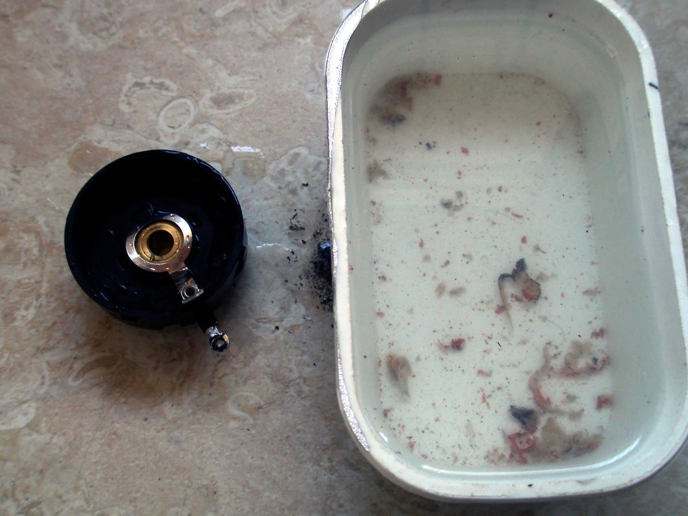 Reparación Potenciómetro radio antigua - Autoradio Philco mod 7 - 17
