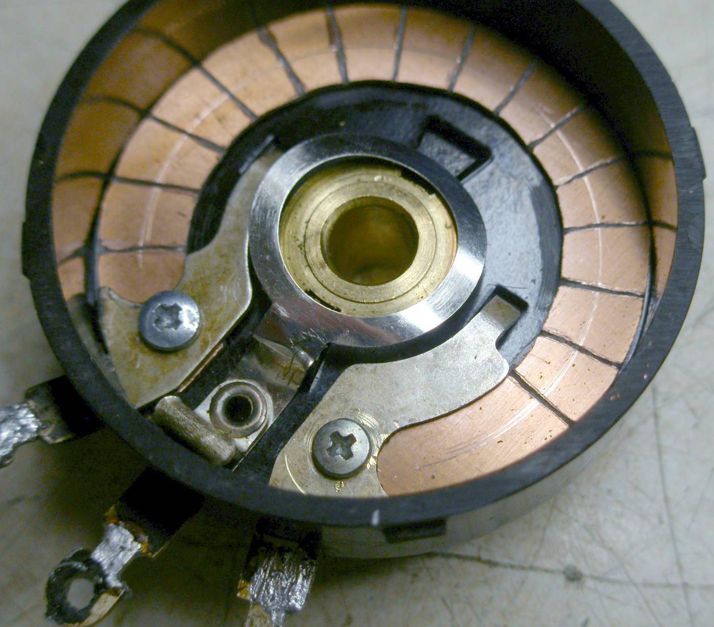 Reparación Potenciómetro radio antigua - Autoradio Philco mod 7 - 19