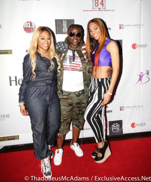 Trina and guests