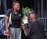 Radio One's Lori Hall gets Proposal from OJ Flowers During Radio One Event 1