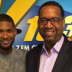 LOOK! Its Usher and Derrick Brown (PIC)