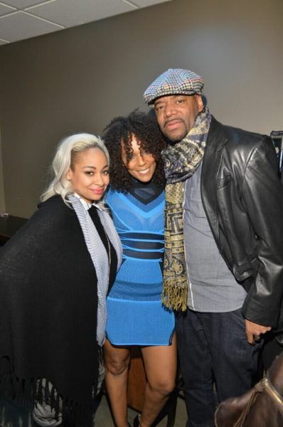 Jasmine Saunders hangs out with Jussie Smollett and Bryshere Y. Gray from Empire 5