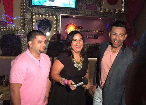 Jay Ruiz presents credentials at the Hard Rock in Santo Domingo 1