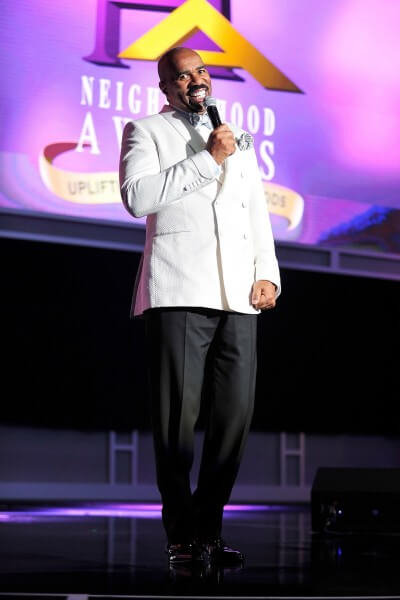 ATLANTA, GA - AUGUST 09:  Steve Harvey attends the 2014 Ford Neighborhood Awards Hosted By Steve Harvey at Georgia World Congress Center on August 9, 2014 in Atlanta, Georgia.  (Photo by Moses Robinson/Getty Images for Ford Neighborhood Awards)