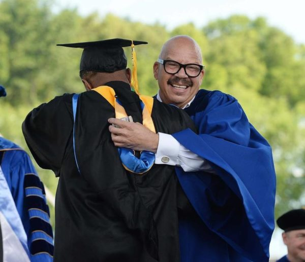 Tom Joyner Gives More than Words of Wisdom to JCSU Graduates