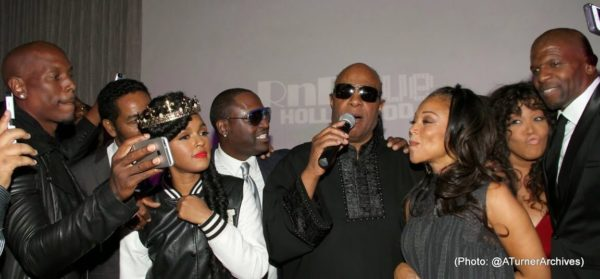 The Stars Were Out for Stevie Wonder's Surprise Birthday Party 9