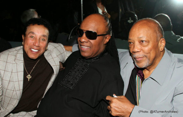 The Stars Were Out for Stevie Wonder's Surprise Birthday Party 10