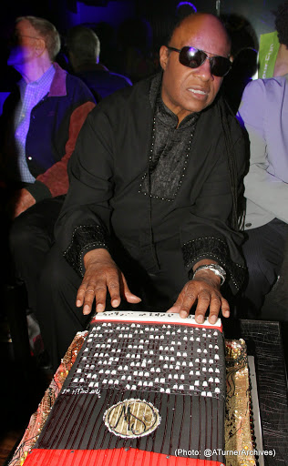 The Stars Were Out for Stevie Wonder's Surprise Birthday Party 11