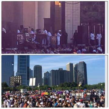 The Morning After Maze Featuring Frankie Beverly Uplifted Chicago
