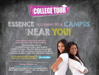Campus Solutions Teams Up with ESSENCE to Launch College Tour