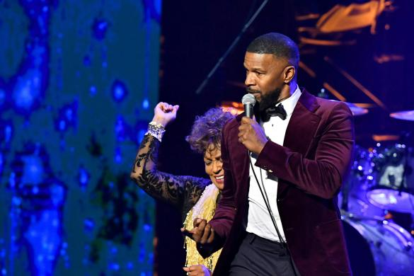 Anita Baker and Jamie Foxx at the URBAN ONE HONORS on Thursday, December 5, 2019 in Oxon Hill, MD at the MGM National Harbor.