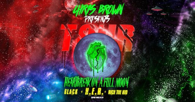chris brown tour
