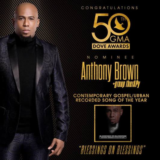 blessings on blessings anthony brown