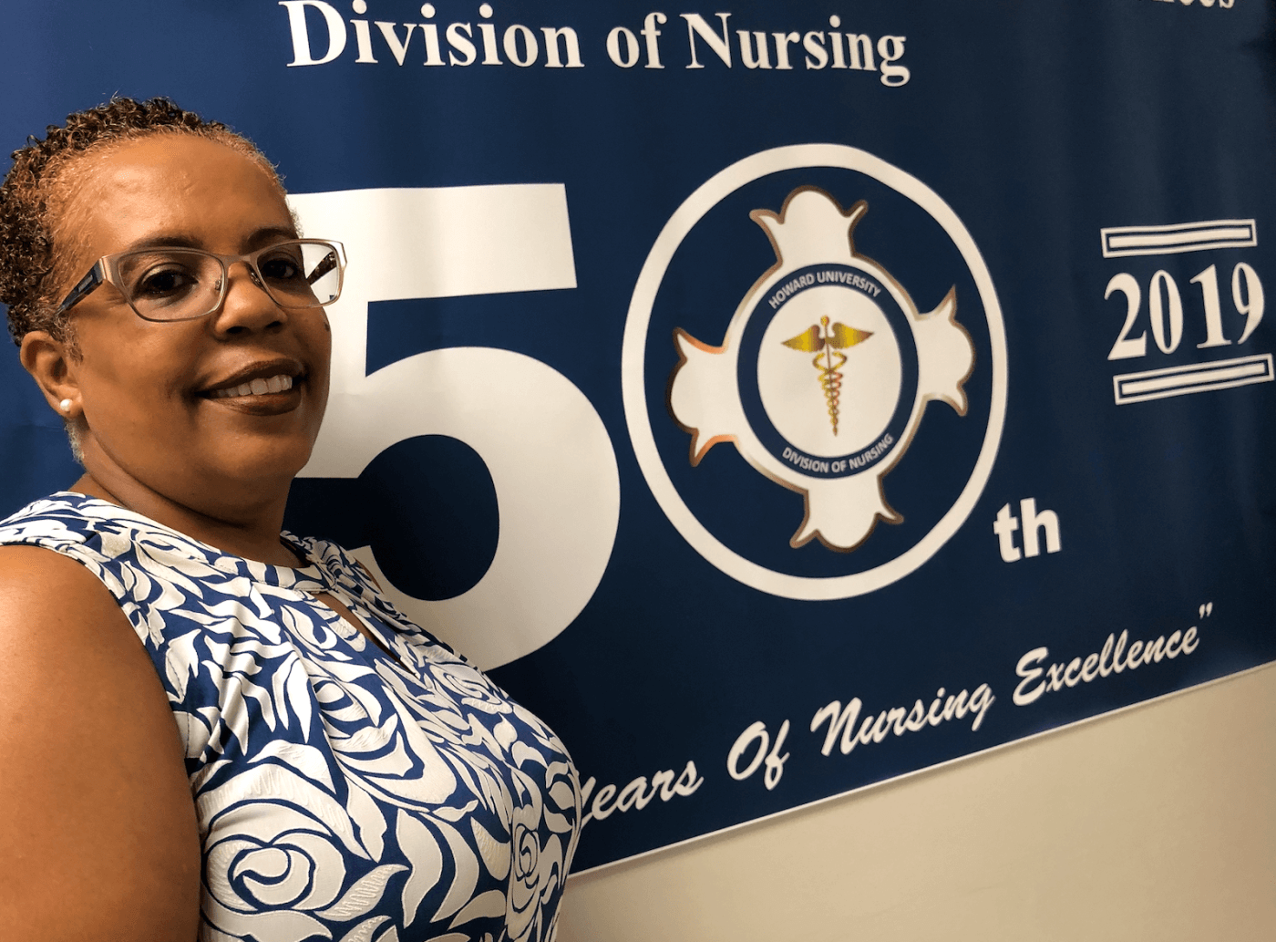 Dr. Winkfield of Howard University College of Nursing and Allied Health Sciences -  source Howard University v2