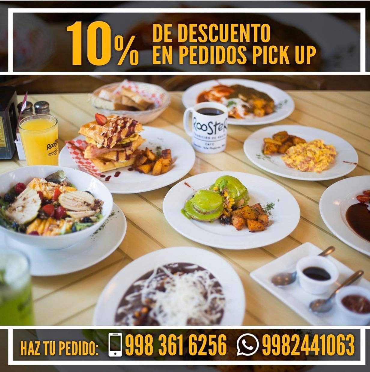 rooster pedidos