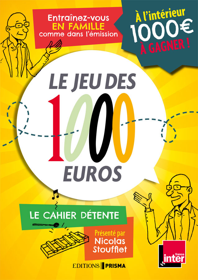 France Inter Le Jeu Des Mille Euros : france, inter, mille, euros, Euros, (cahier, Détente), Radio, France