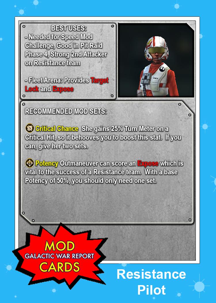 modcard resistancepilot - Pilot Fleet Card