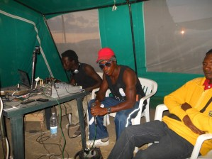 Rapper in radio. 2012