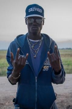 Rapper al Ghetto. 2014