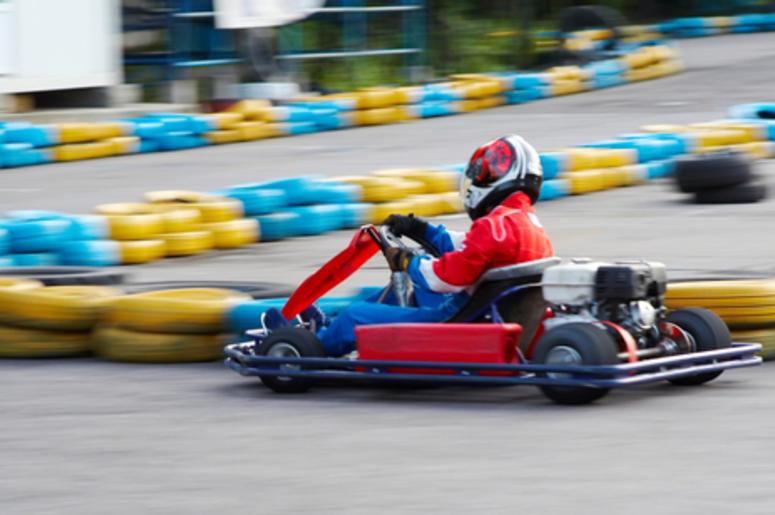 mario kart racing is