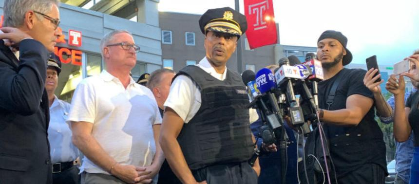 Philadelphia police commissioner details harrowing rescue of 2 cops trapped inside Nicetown gunman home xcdfffd