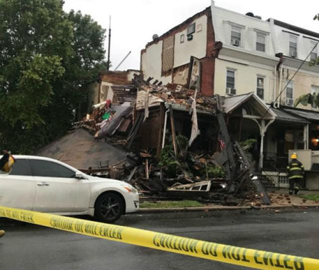 Authorities Say The Second And Third Floors Of A Row Home Located At 39th And