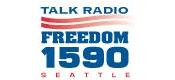 Freedom 1590 KLFE 570 KVI Seattle Sean Hannity Michael Medved Mark Levin