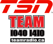TSN Radio The Team 1040 1410 Vancouver 1050 Toronto 990 Montreal 1200 Ottawa 1290 Winnipeg