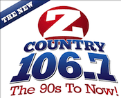 ZCountry Z Country 106.7 WMHX Channel Hershey Harrisburg York Lancaster Z107