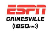 ESPN Gainesville 850 WRUF Ocala 900 100.1 WMOP University Of Florida Gators