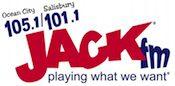 105.1 101.1 Jack JackFM Ocean City Salisbury WAMS WAMS-FM