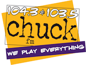 104.3 103.5 Chuck ChuckFM Appleton Green Bay WCHK WCHK-FM Woodward Christmas Station KZ1043 KZ