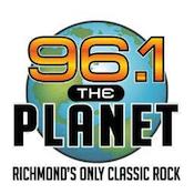 96.1 The Planet Richmond 96.5 WKLR XL102 94.5 WRVQ-HD2 Bob Tom