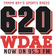 620 WDAE 95.3 Sports Animal Tampa Bay Rays St. Petersburg
