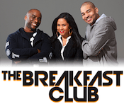 Breakfast Club Power 105.1 WWPR DJ Envy Charlamagne Tha God Angela Yee 103 Jamz WOWI Norfolk V100 WKKV Milwaukee 104.1 The Beat Birmingham
