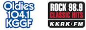 Radio Results Group Star 98.9 Rock KRock KKRK Oldies Classic Hits 104.1 KGGF Coffeyville