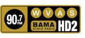 90.7 WVAS-HD2 Montgomery Alabama Bama State Radio 96.5 W243CS