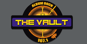 Yo 107.1 The Vault Album Rock W296AI Montgomery Bluewater