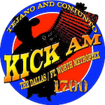 Kick 1700 Tejano Funny KKLF Richardson Dallas Claro Communications Gerald Benavides