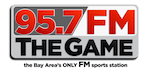 95.7 The Game KGMZ San Francisco Damon Bruce Aubrey Huff Rise Guys Ric Bucher KNBR