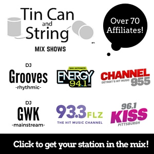 Tin Can & String DJ Grooves Goofy White Kid GWK