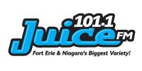 101.1 JuiceFM Juice FM CFLZ 105.1 2DayFM 2Day CJED Niagara Falls