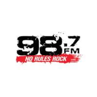 Bubba 98.7 No Rules Rock WBRN-FM Tampa Santa Christmas