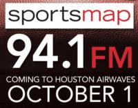 SportsMap 94.1 Sports Map SB Nation 1560 KGOW Houston