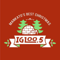 Oldies 100.5 Christmas Igloo KXAC Mankato