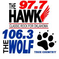 97.7 The Hawk KHRK 106.3 The Wolf KWOF Enid