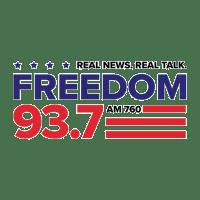Freedom 93.7 760 KDFD Denver Orange & Blue KDSP The Rock
